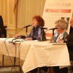 Regina Gil, Shuli Eshel, Dr. Barbara McDonald Stewart, Dr. Rafael Medoff